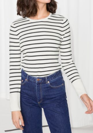 Stories Striped Sweater