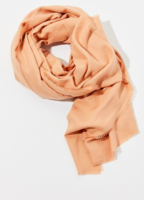 UO Brushed Woven Blanket Scarf