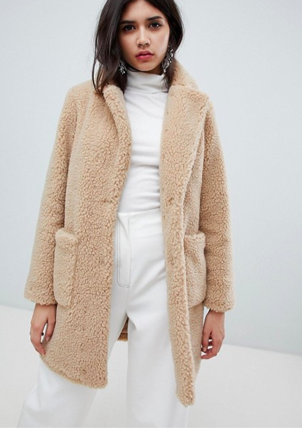 New Look Teddy Coat