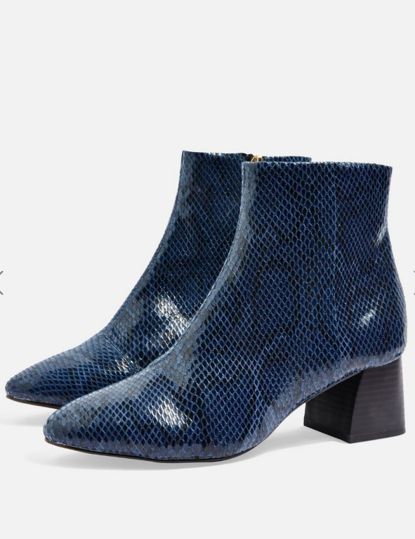 Topshop Babe Ankle Boots