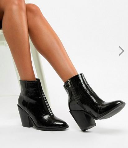 ASOS DESIGN Emelia high ankle boots
