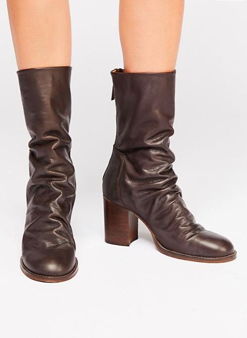 FP Elle Block Heel Boot