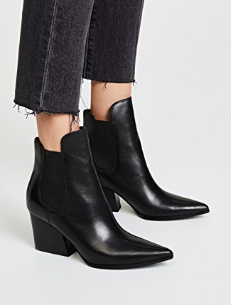 KENDALL + KYLIE Finley Leather Booties
