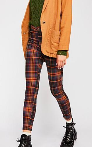 FP Belle Printed Skinny Pants