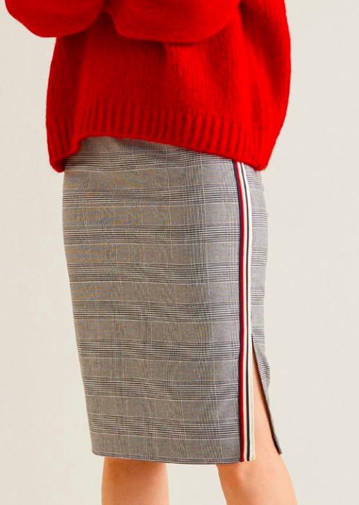 Mango Decorative trim skirt