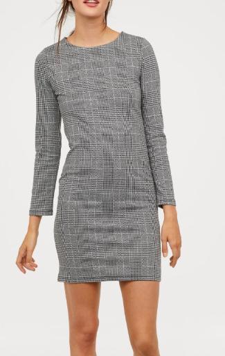 HM Long-sleeved Jersey Dress