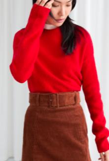 Stories Cotton Blend Sweater