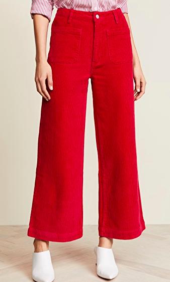 Rolla's Cord Sailor Pants