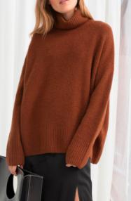 Stories High Neck Sweater