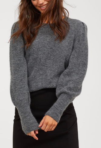 HM Knit Wool-blend Sweater