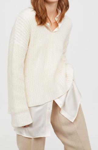 HM Rib-knit Sweater
