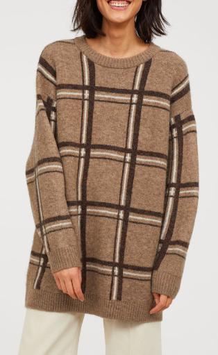 HM Jacquard-knit Sweater