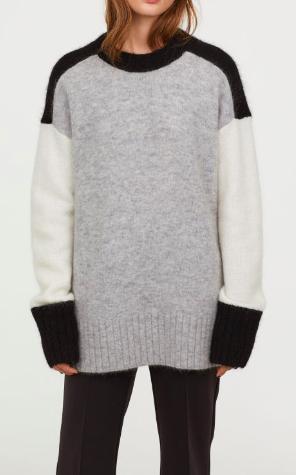 HM Oversized Mohair-blend Sweater