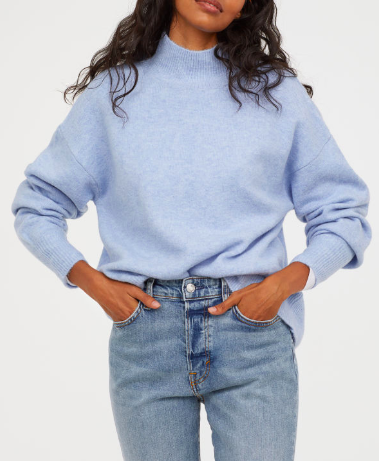HM Knit Sweater with Collar