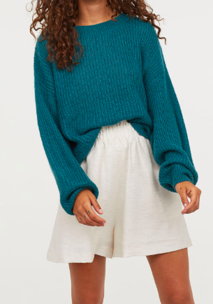 HM Loose-knit Sweater