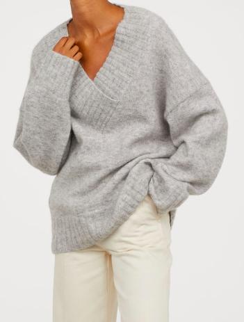HM Knit Mohair-blend Sweater
