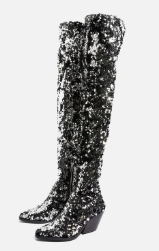 Topshop BAMBOO Over The Knee Boots