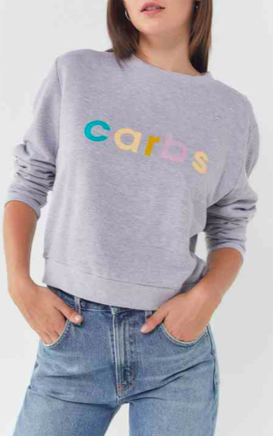 Quick and Soft English MuffinsFuture State Carbs Crew-Neck Sweatshirt