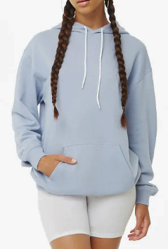 FOREVER 21 Oversized French Terry Hoodie