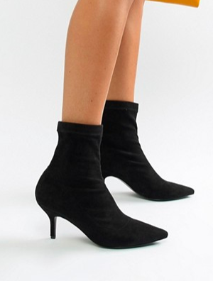 Blink Kitten Heel Ankle Boots