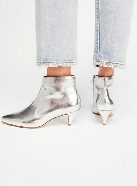 Jane and the Shoe Kizzy Kitten Heel Boot