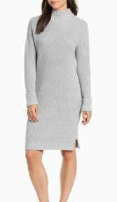 Ribbed Sweater Dress CASLON®