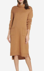 Turtleneck Sweater Dress CAARA