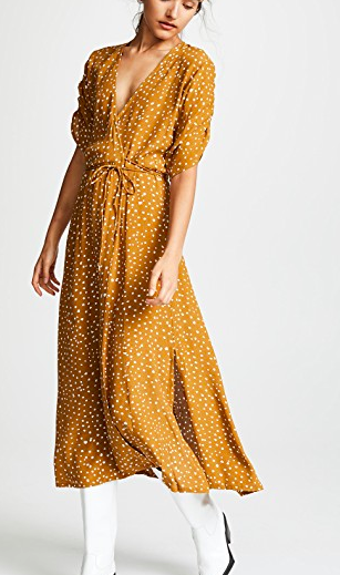 FAITHFULL THE BRAND Chiara Midi Dress
