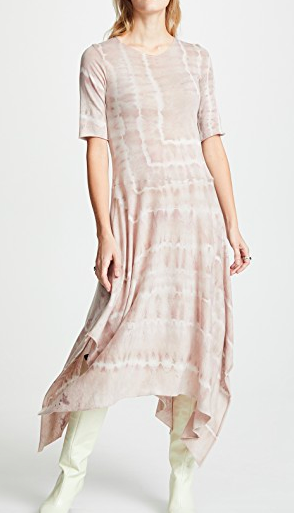 Raquel Allegra Handkerchief Tee Dress