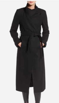 Fencer Melton Wool Maxi Coat KENNETH COLE NEW YORK