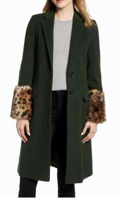 Future College' Notch Collar Coat HELENE BERMAN