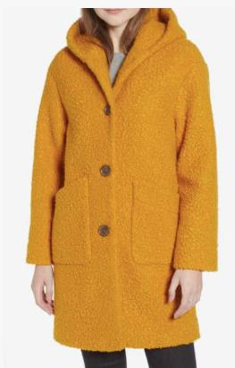 Hooded Coat HALOGEN®