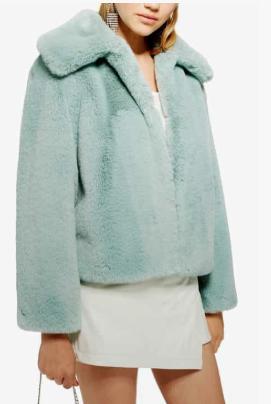 Faux Fur Jacket TOPSHOP