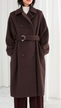 Stories Duo D-Ring Belted Coat