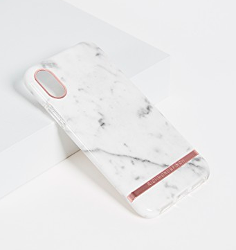 Richmond & Finch White Marble iPhone X Case