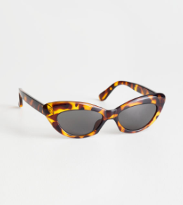 Stories Rounded Cat Eye Sunglasses