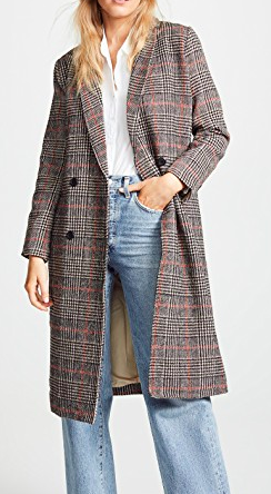 cupcakes and cashmere Adi Plaid Jacket