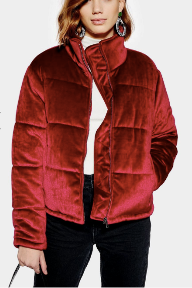 **Plush Padded Jacket by Native Youth