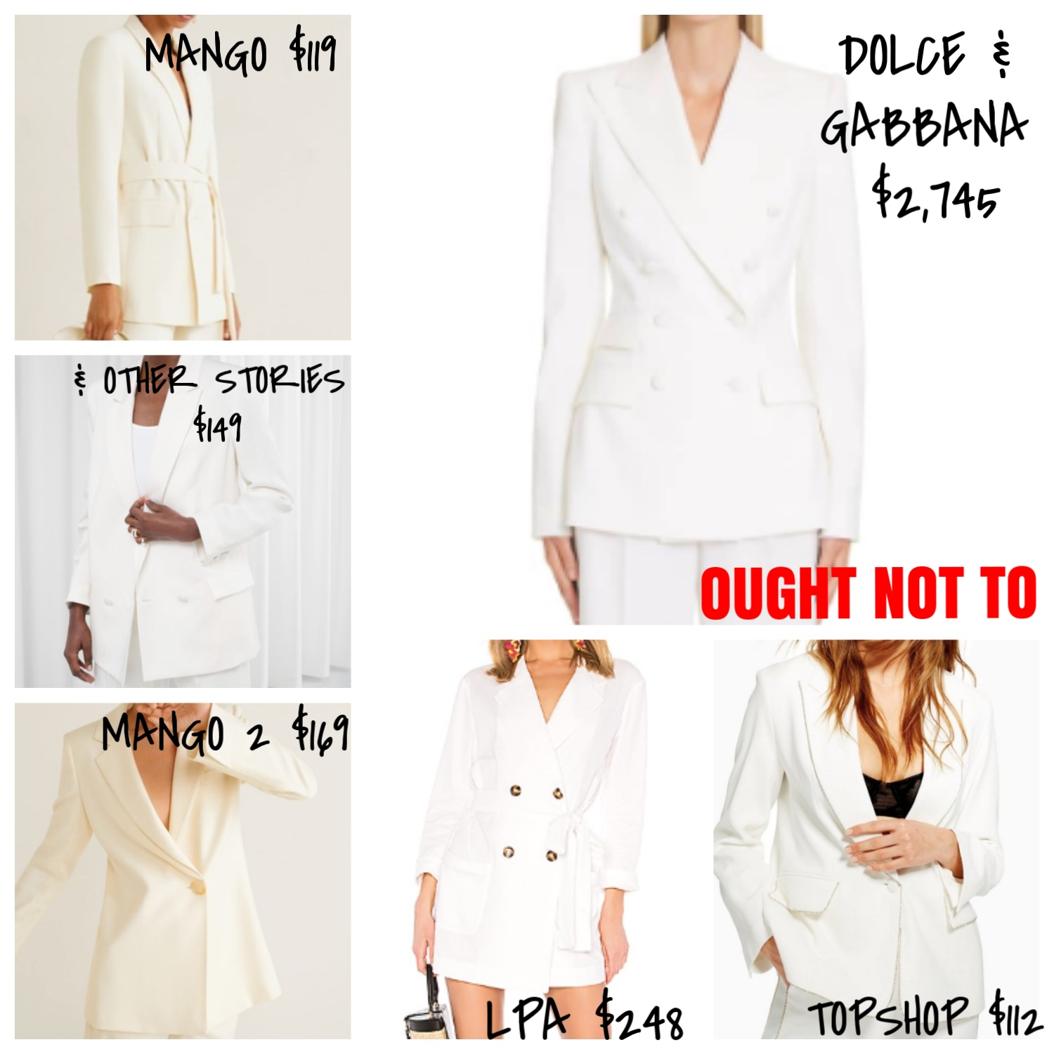 Ought Not To, Ought To: Blazers | TrufflesandTrends.com