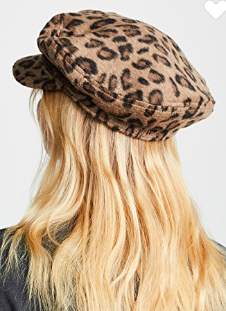 Brixton Leopard Fiddler Cap