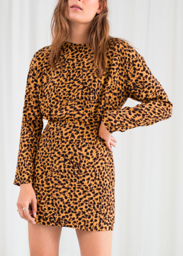 Stories Leopard Print Dress