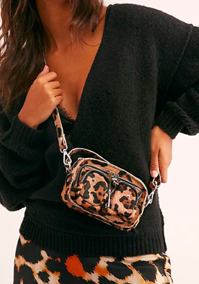 Nunoo Helena Leopard Mini Bag
