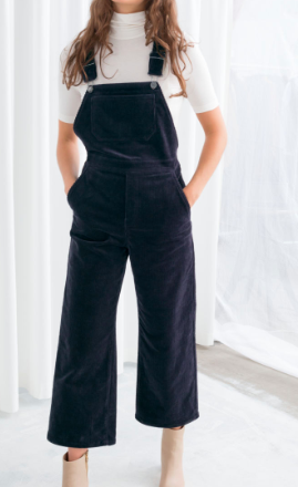 Stories Wide Corduroy Overalls
