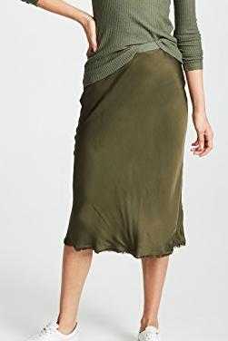 Nation LTD Mabel Bias Cut Slip Skirt