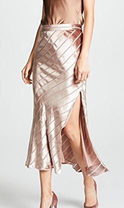 Michelle Mason Bias Skirt