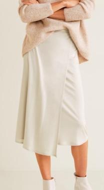 Mango Wrap flowy skirt