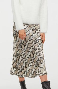 HM Calf-length skirt
