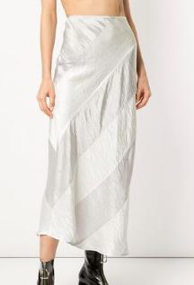 GEORGIA ALICE Delilah panelled slip skirt