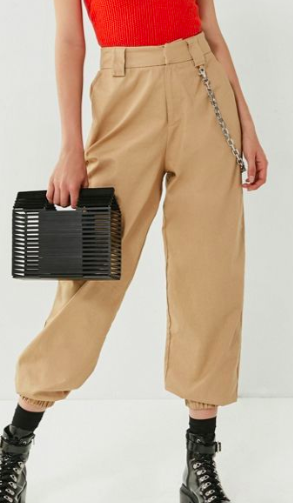 I.AM.GIA Cobain Relaxed-Fit Chain Pant