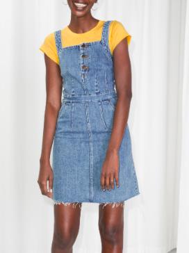 Stories Denim Mini Dress